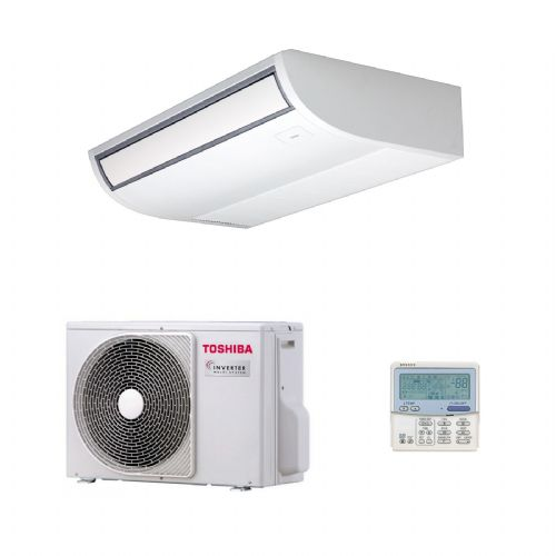 Toshiba Air Conditioning RAS Ceiling Mounted Heat Pump Inverter 5Kw to 14Kw A+